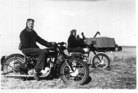 Мотоциклы из прошлого