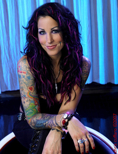 Pixie Acia is the 26-year old shop manager of High Voltage Tattoo in West