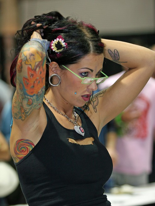 recent tattoo convention in Calgary.